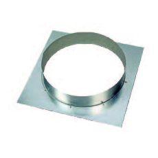 Platine virole de raccordement diamètre 250
